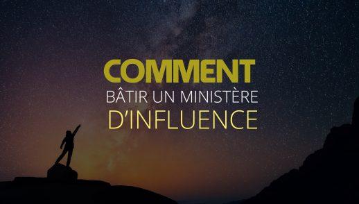 Comment bâtir un ministère d'influence