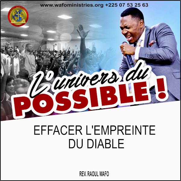 EFFACER L'EMPREINTE DU DIABLE (2/2)
