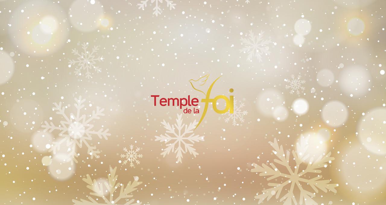 Temple de la foi en fête