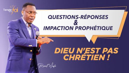Questions & Réponses : Dieu n'est pas Chrétien